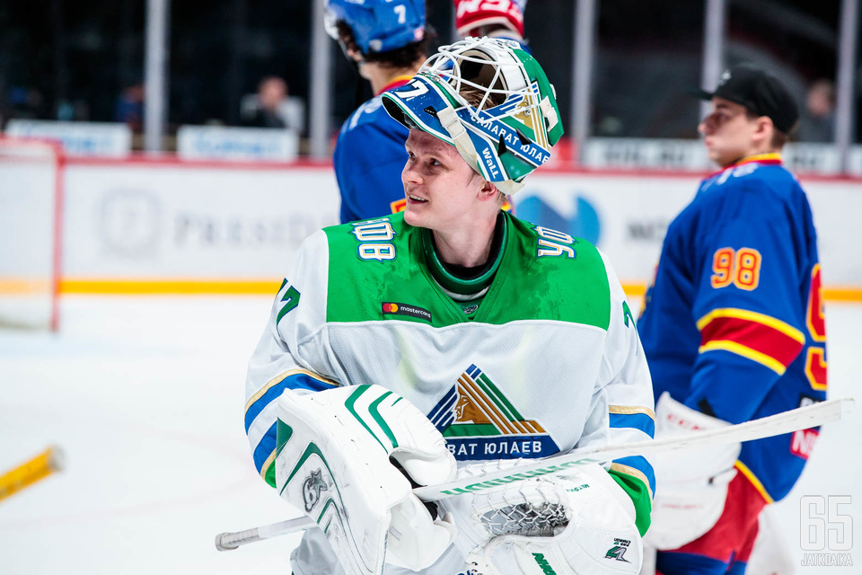 Juha Metsola oli mainiossa vireessä Jokereita vastaan.