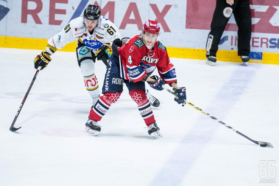 Iikka Kangasniemen taitotaso tulee HIFK:lle tarpeeseen.