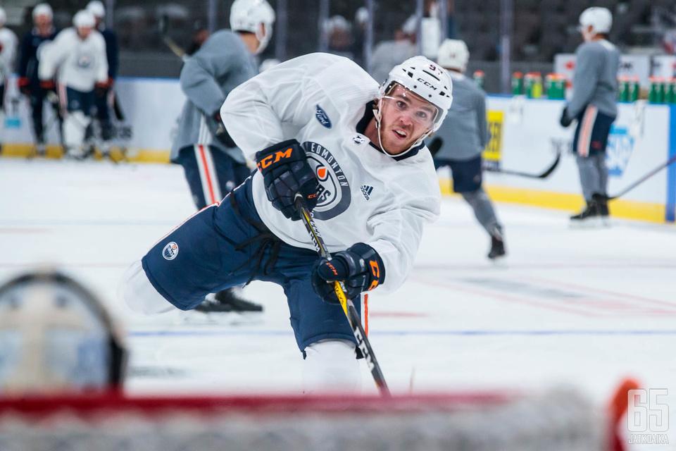 Connor McDavid on Edmonton Oilersin ykköstähti ja koko NHL:n paras pelaaja.