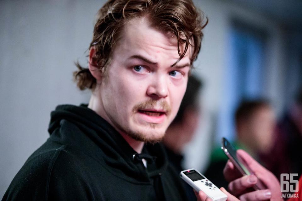 Ville Leskinen jatkaa uraansa HIFK:ssa.