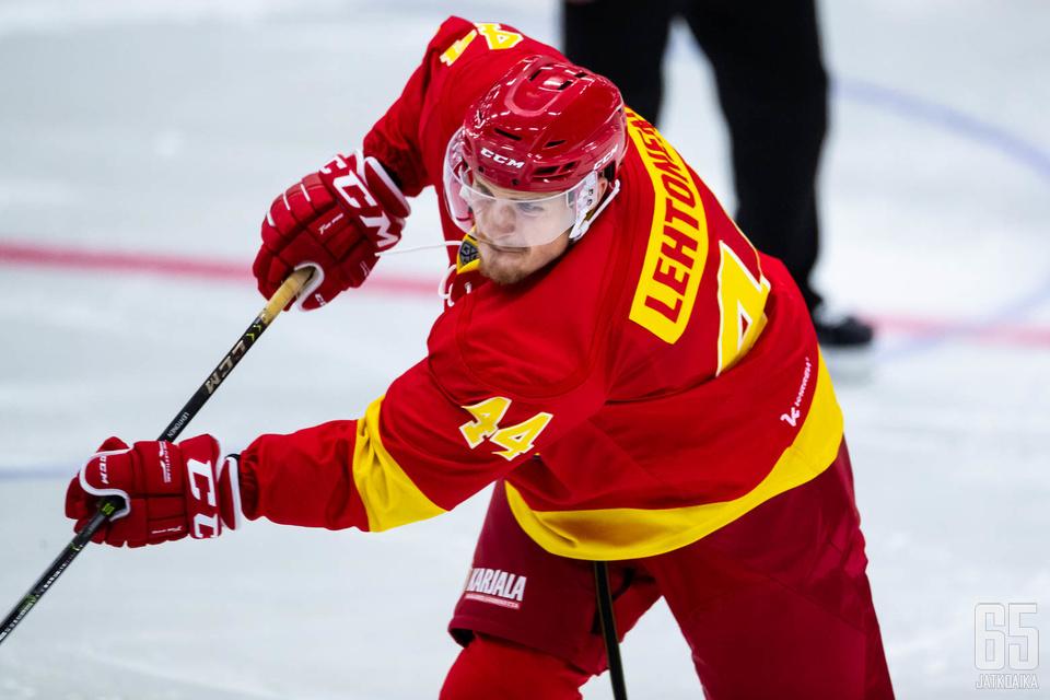 Mikko Lehtonen on aloittanut väkevästi kautensa Jokereiden paidassa, Valkeakoskella syntyi maali ja syöttöpiste.