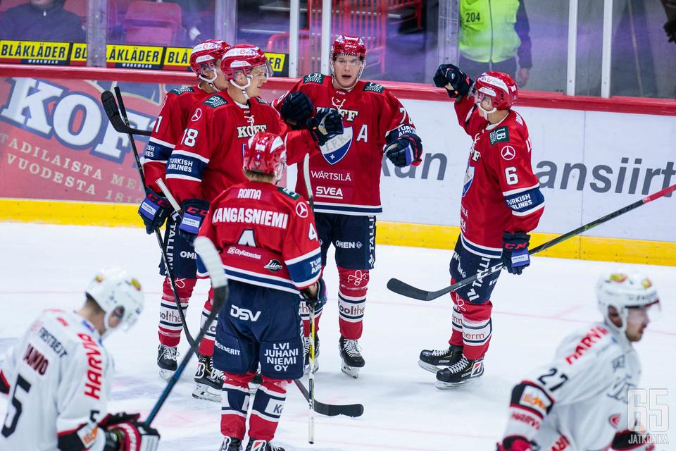 HIFK juhli kauden toista voittoaan.