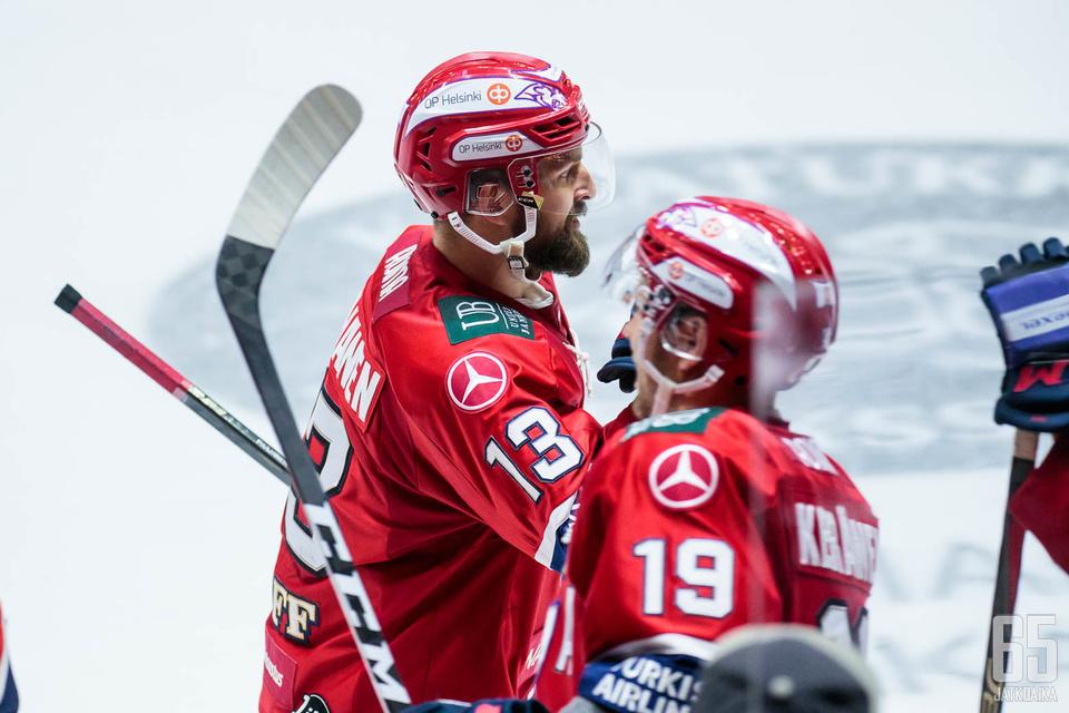 Paajanen oli mukana HIFK:n molemmissa maaleissa.