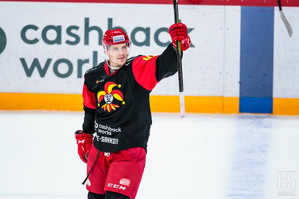 Tuleeko Mikko Lehtoselle vielä uusia mahdollisuuksia tuulettaa tällä kaudella, kun Jokerit taistelee KHL:n läntisen konferenssin kärkisijoista?