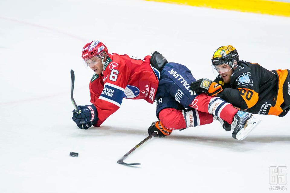 HIFK:n ja KooKoon alkukausi on ollut konttaamista.