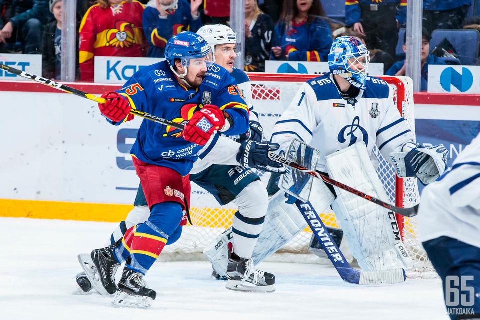 Pekka Jormakka iski pudotuspelikeväänsä avausmaalin perjantain kolmannessa ottelussa.