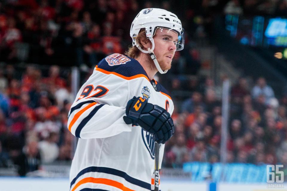 McDavid myönsi, ettei Oilers ollut tarpeeksi hyvä.