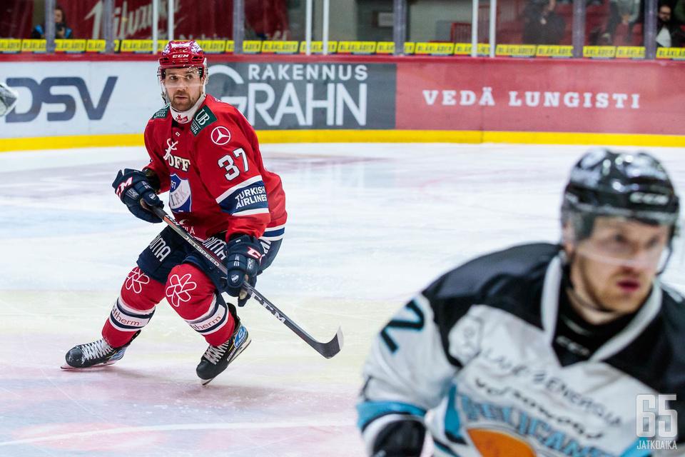 Ilmari Pitkäsen mielestä perusasioihin palaaminen teki HIFK:n pelille hyvää.
