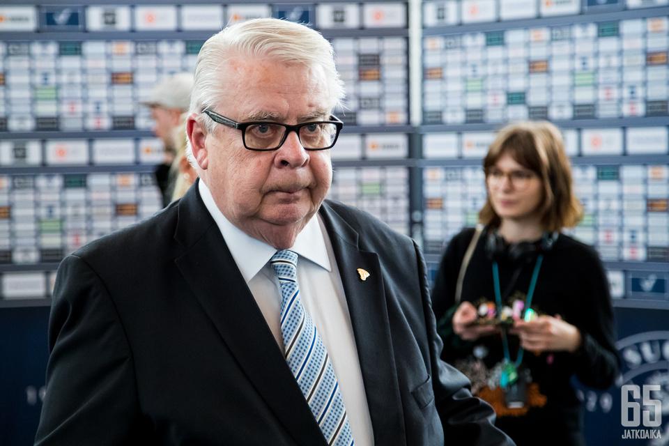 Kummola on jättämässä paikkansa IIHF:n varapuheenjohtajana.