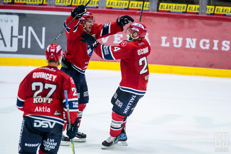 HIFK juhli voittoa KooKoosta.