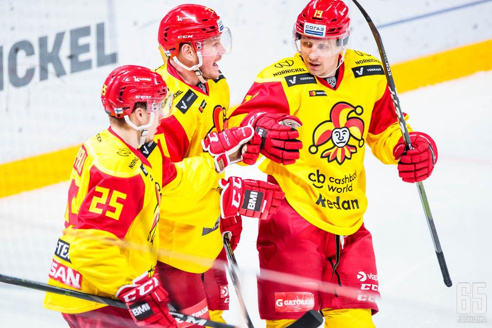 KHL-vedonlyönti on kasvanut Suomessa Jokerien liityttyä sarjaan.