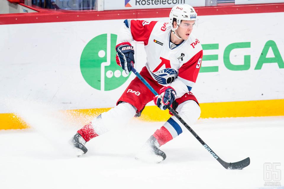 Magnus Pääjärvi lukeutuu Lokomotivin avainhyökkääjiin.