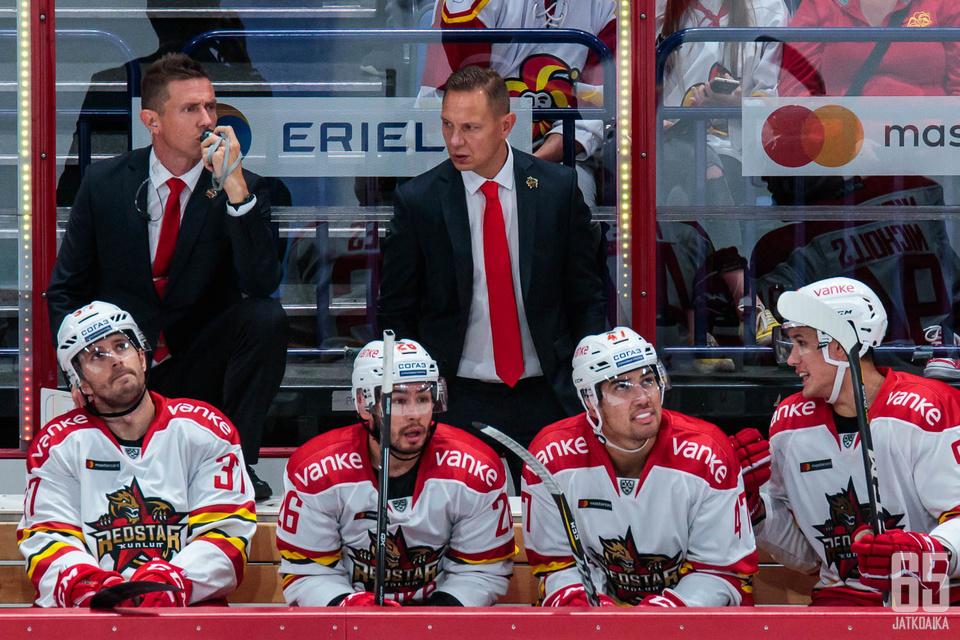 Jyrki Ahon ja Jussi Tapolan pesti Kiinassa tuli päätökseen.