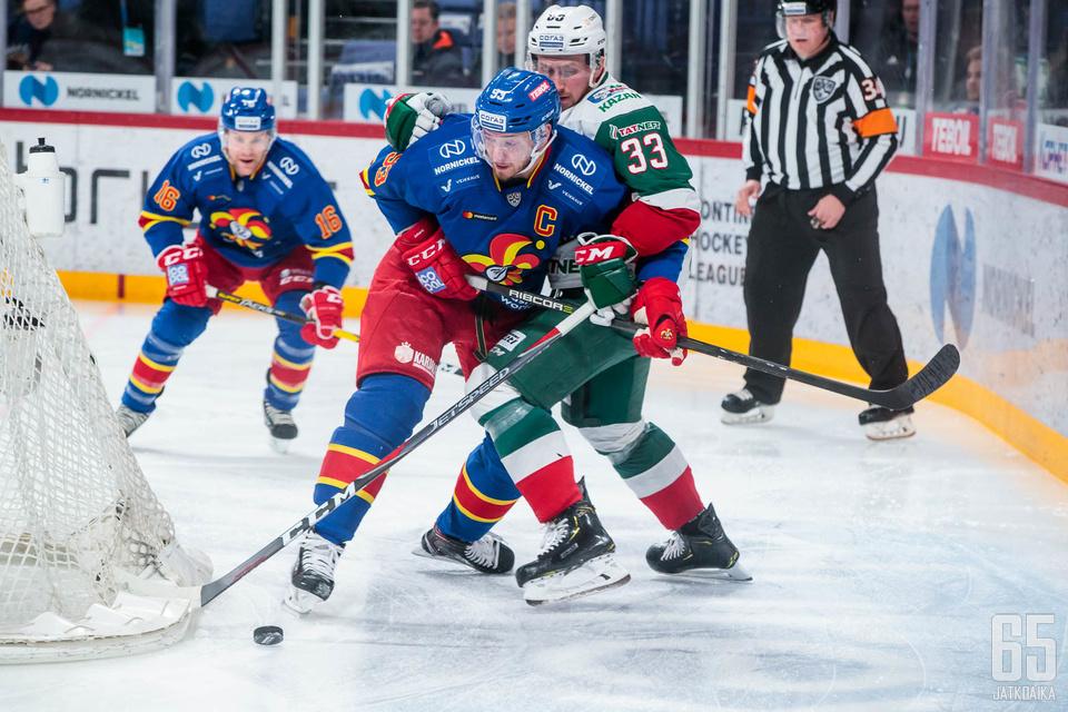 Jokerit hävisi keskiviikkona Ak Bars Kazanille 2–3.