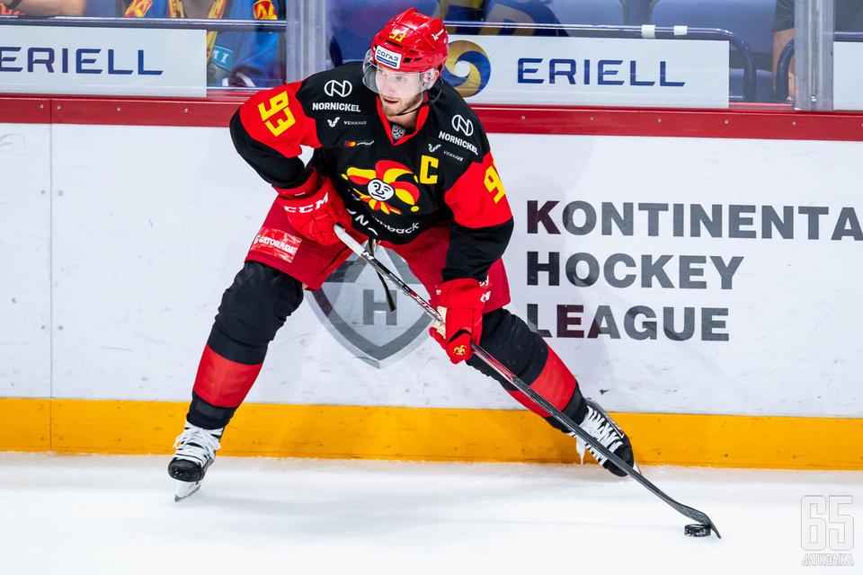 Tanskalaishyökkääjät Peter Regin ja Nicklas Jensen ovat olleet iskussa viime otteluissa.