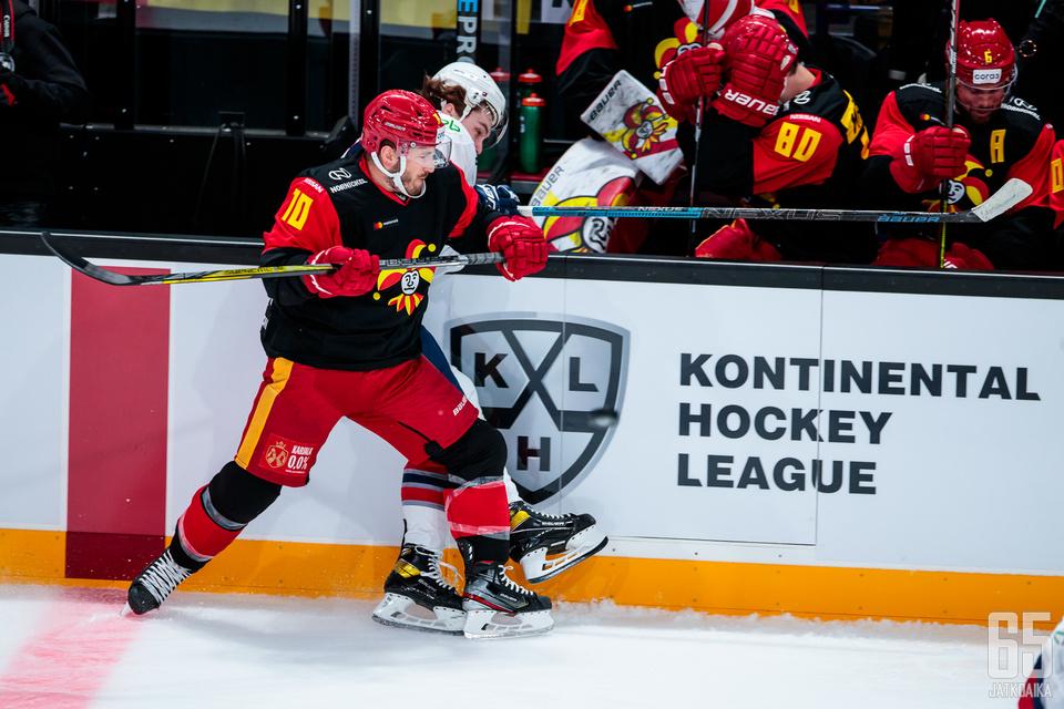 Jokerit sai suurimman osan KHL:n jakamista TV-rahoista.