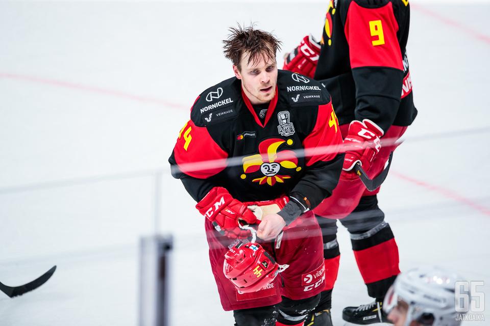 Mikko Lehtonen on Jokerien puolustuksen ehdoton ykkösnimi.