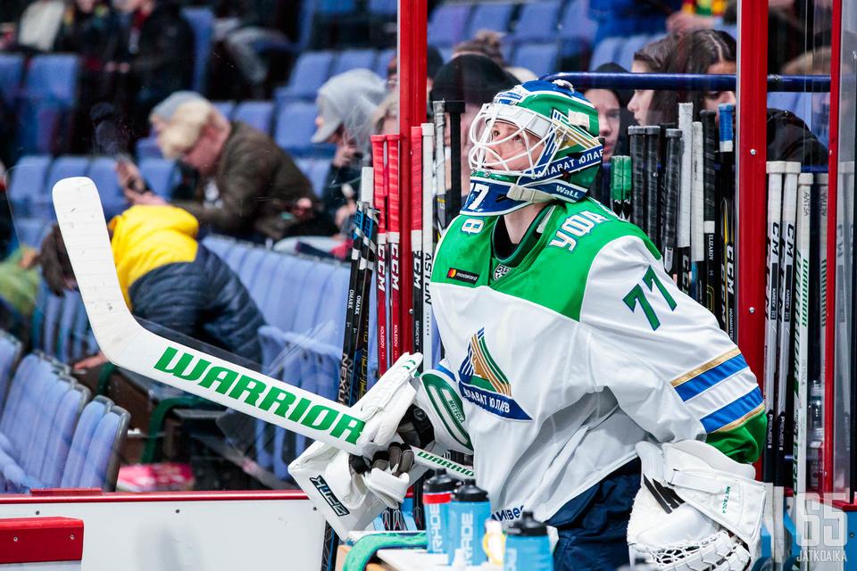 Juha Metsola oli vakuuttavilla otteillaan yksi Ufan voiton takuumiehistä.