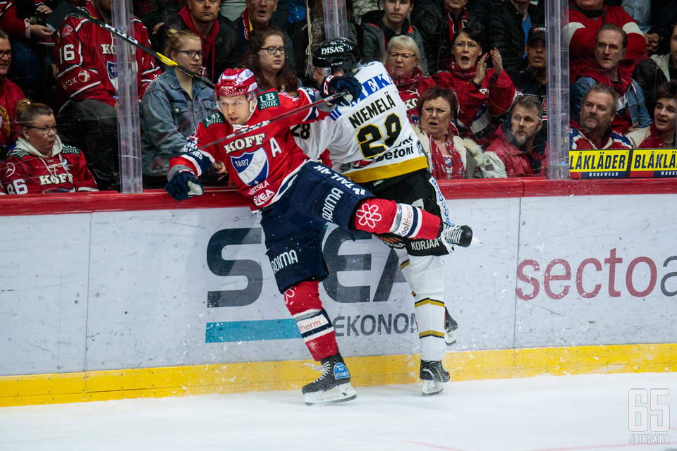 Kärpät ja HIFK ovat Liigan jättiläisiä taloudellisesti.