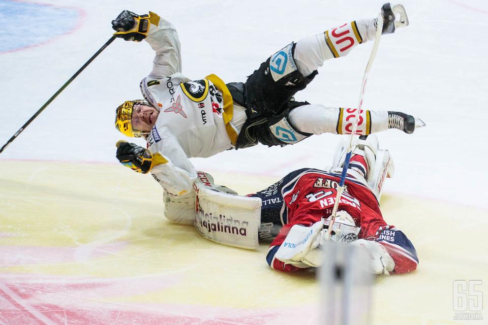 HIFK joutui taipumaan välierissä – jälleen kerran.
