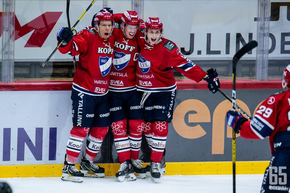 HIFK vahvistui Jeremy Dehnerillä.