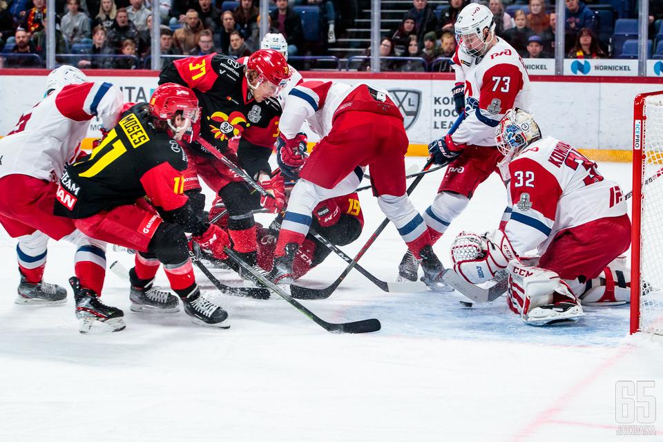 Jokerit ei jatka kauttaan KHL:ssä.