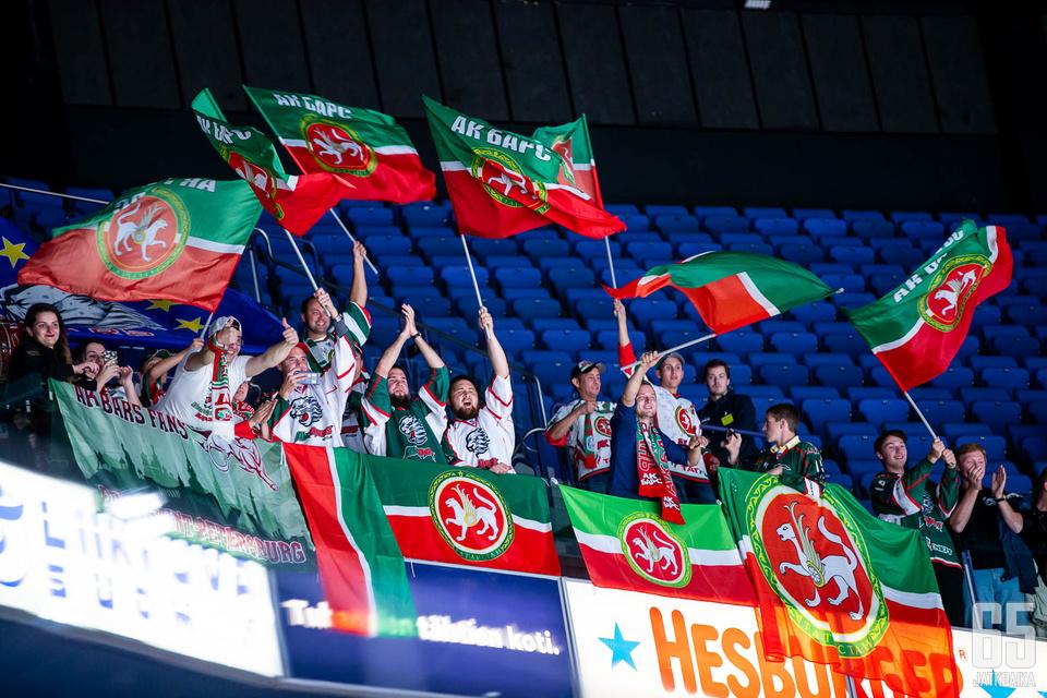 Ak Bars Kazanin faneilla on syytä juhlaan.