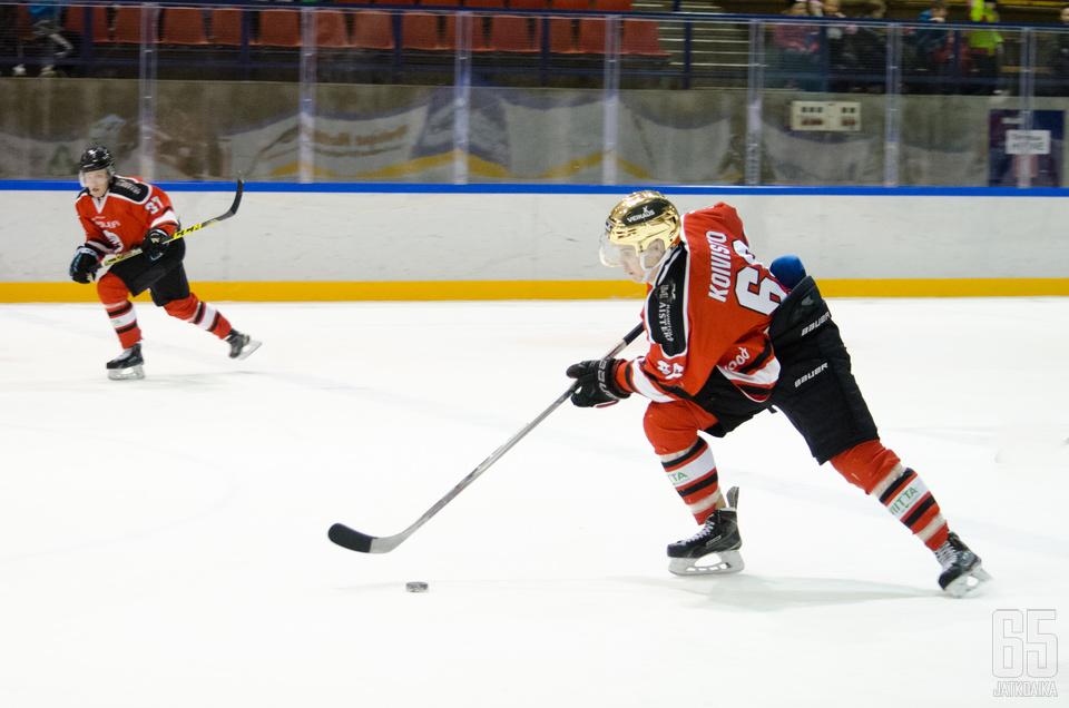 Roope Elimäki ja Kimi Koivisto ovat ponnistaneet Peliitoista Pelicansiin isoon rooliin. (Arkistokuva)