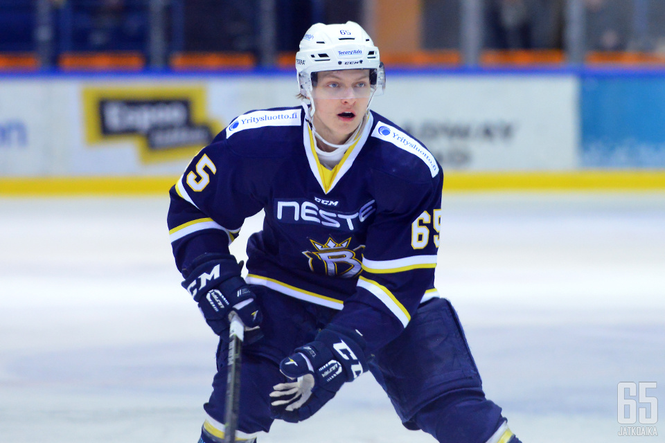 Andersson pelasi tehokkaan kauden Bluesin A-nuorissa.