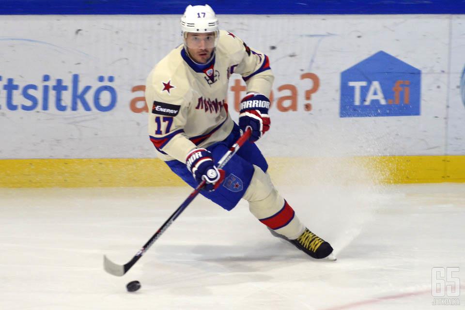 Ilja Kovaltšuk iski voittomaaliksi jääneen 4-2-osuman.