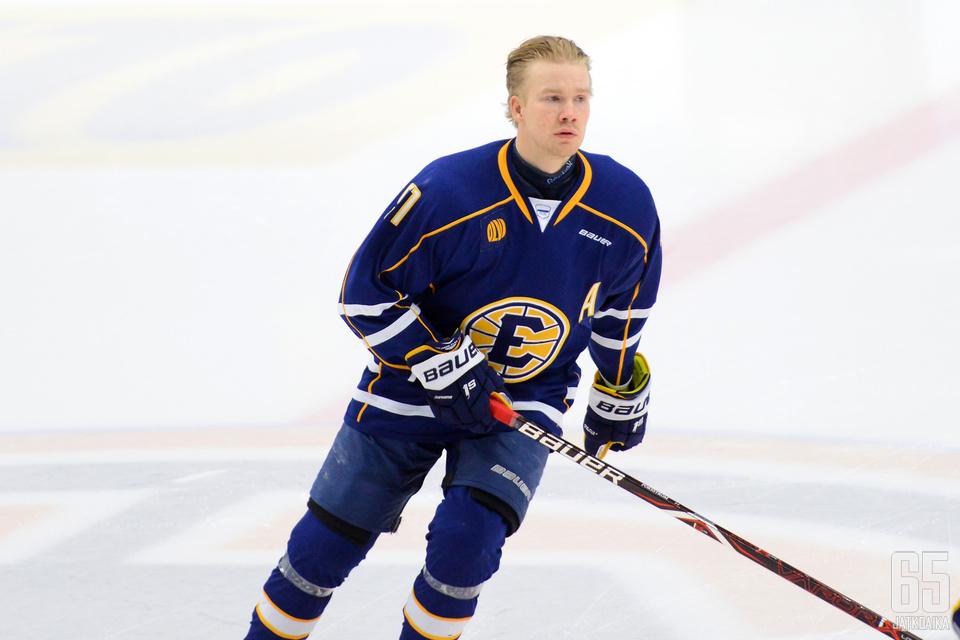 Juuso Forsström vaihtoi mestaruuskauden jälkeen maisemaa Espooseen, nyt edessä on paluu takaisin Savonlinnaan.