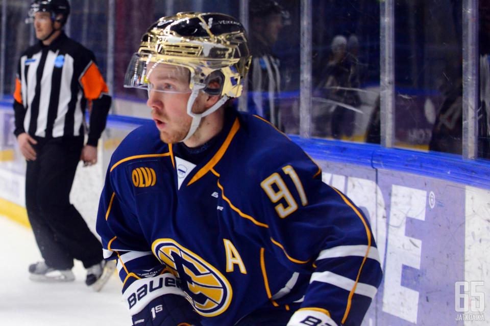 Juuso Forsström on ollut espoolaisten parhaita pelaajia.