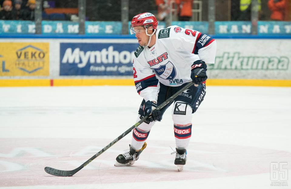 Generous pelasi Suomessa viimeksi HIFK:ssa.