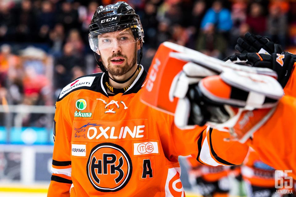 Janne Lahden kausi päättyi kesken runkosarjan. Samalla päättyi myös hyökkääjän ura.