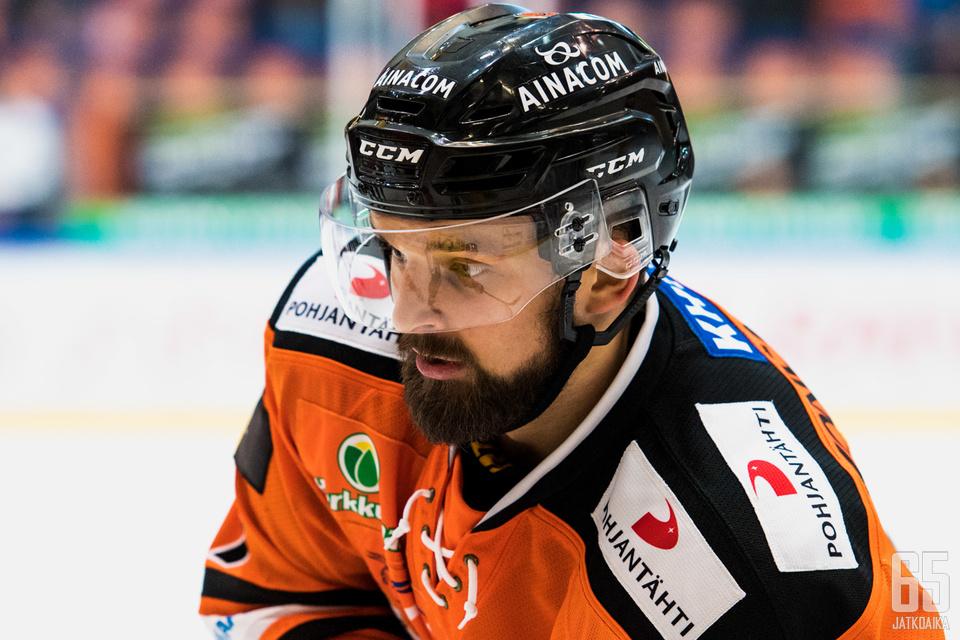 Teräsmies Otto Paajanen.