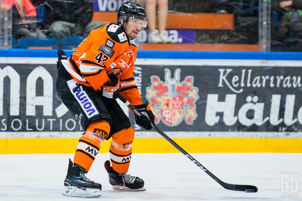 Janne Lahden ura on päättynyt.