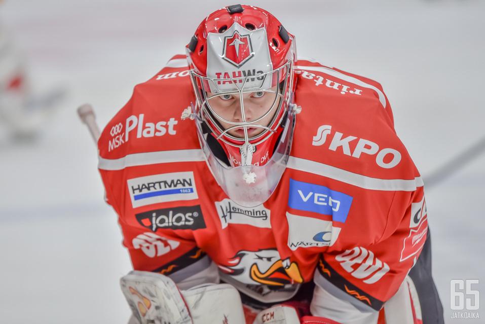 Timo Niemi pelasi Vaasan Sportin riveissä Liigaa kaudella 2015-16.