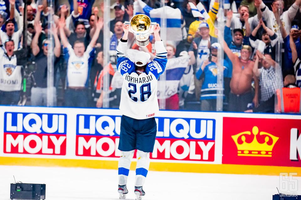Henri Jokiharju ja Leijonat eivät välttämättä puolustakaan maailmanmestaruutta tänä keväänä.