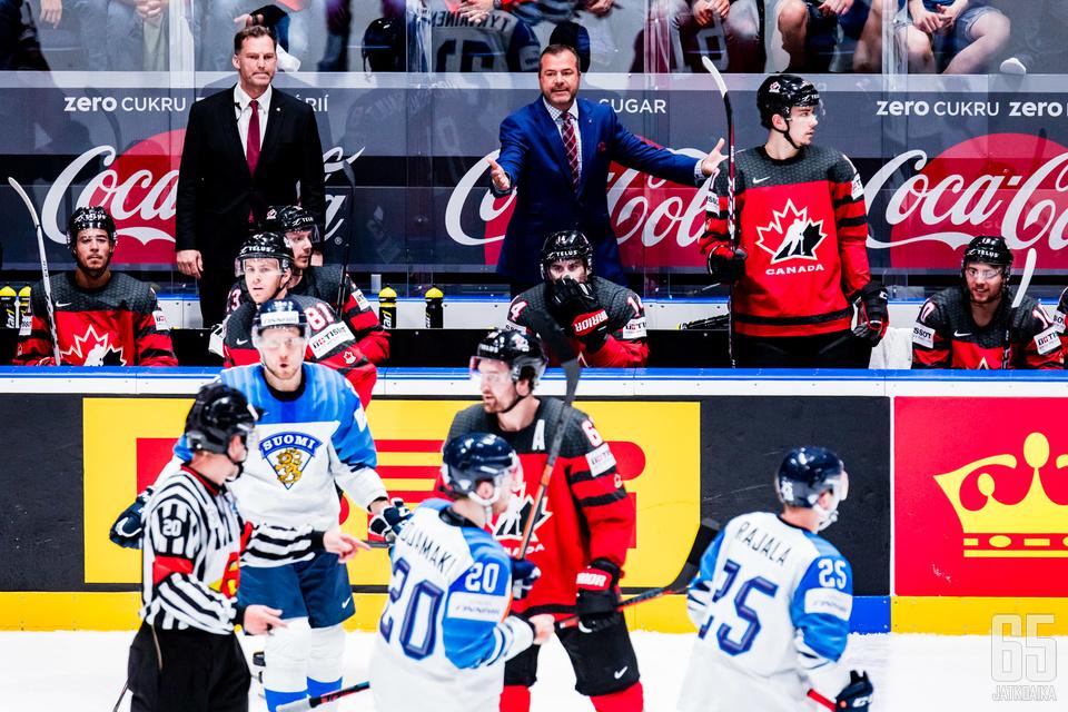 Kanada ja Suomi kohtaavat ensi kevään MM-kisoissa jo alkulohkossa.