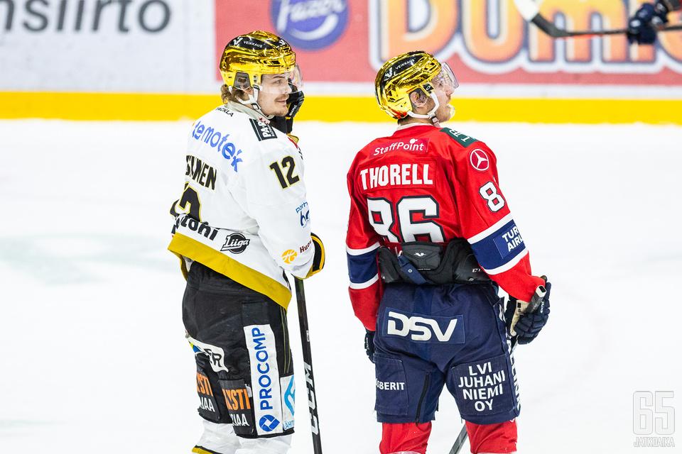 Sekä Thorell että Leskinen ovat jättäneet toistaiseksi parantamisen varaa.