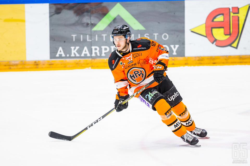 Jesper Lindgren oli yksi HPK-puolustuksen parhaita onnistujia.