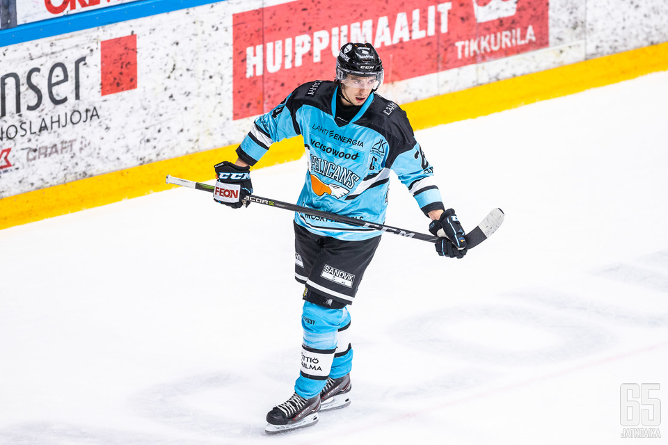 Hannes Björninen kantaa jatkossakin lahtelaismiehistön kapteenin vastuuta.