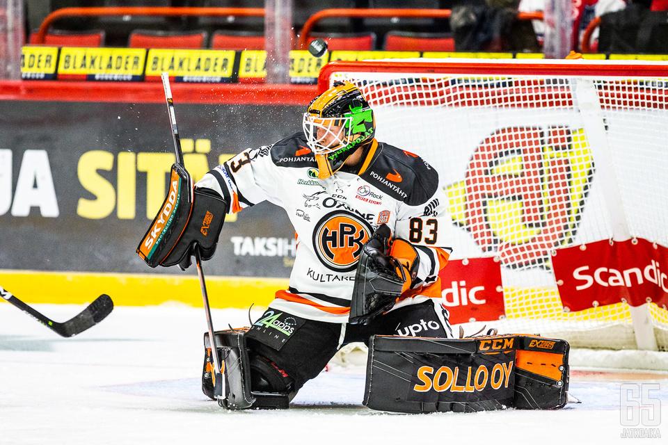 Joona Voutilainen oli pelipäällä perjantaina.