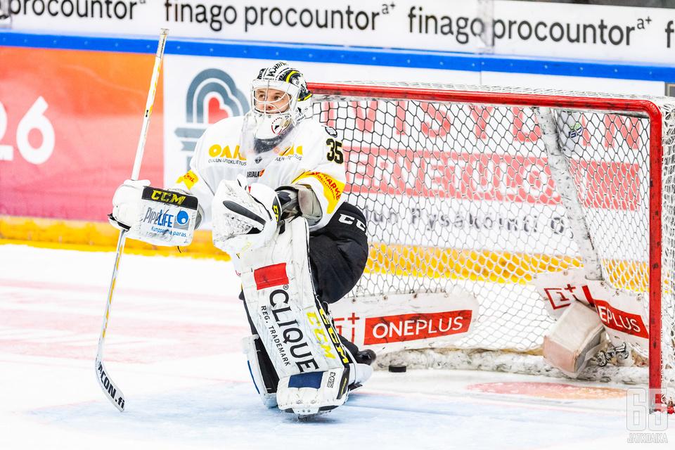 Kauden viimeinen maali meni Kärppien kannalta väärään maaliin.