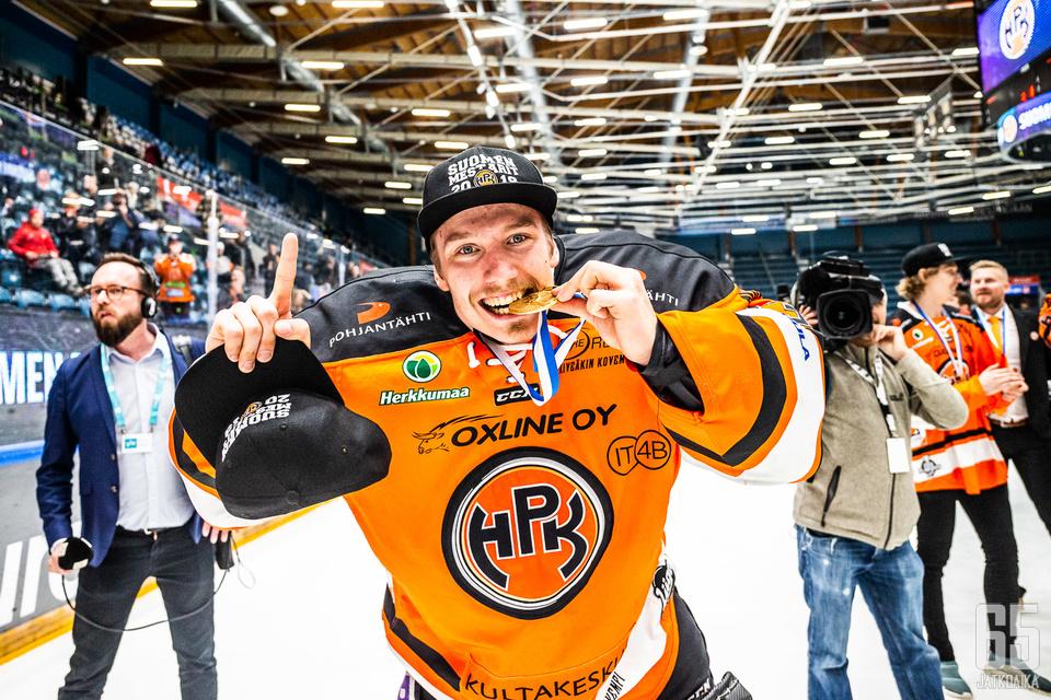 Larmi torjui HPK:n Suomen mestariksi.