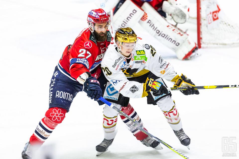 Quincey tulee olemaan HIFK:n tärkein puolustaja. Heponiemen on Kuparin kanssa herättävä.