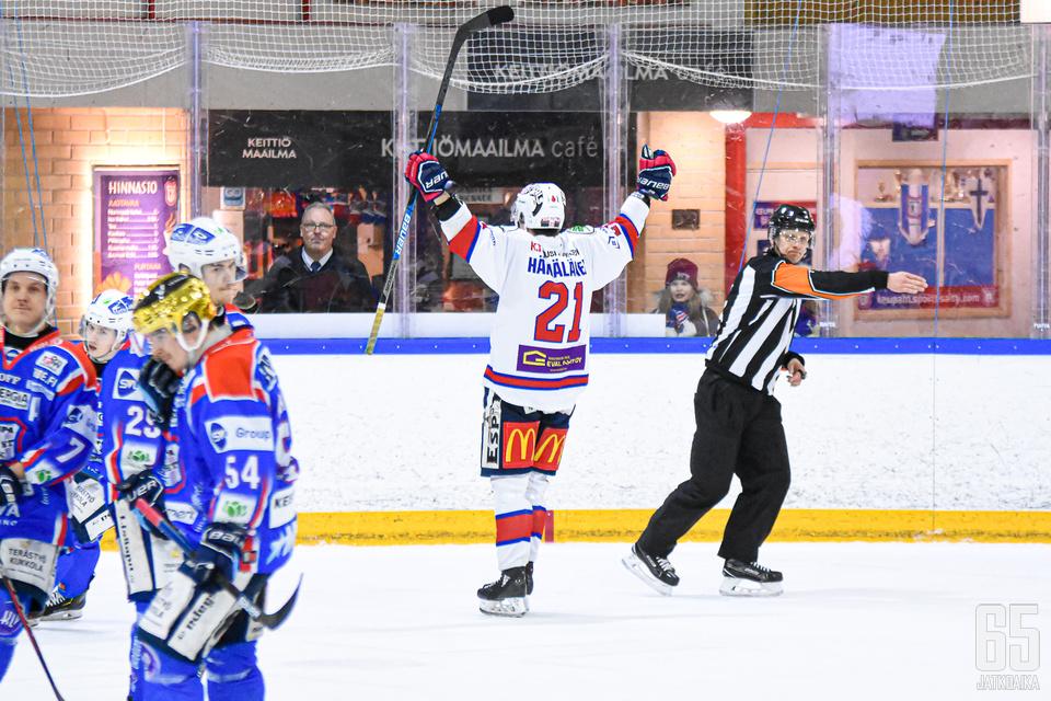 Hämäläinen tuulettelee seuraavaksi Slovakian kentillä.