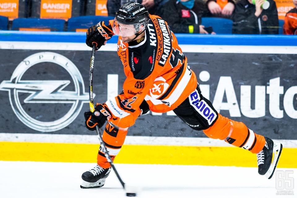 Arto Laatikainen joutui pelikieltoon.