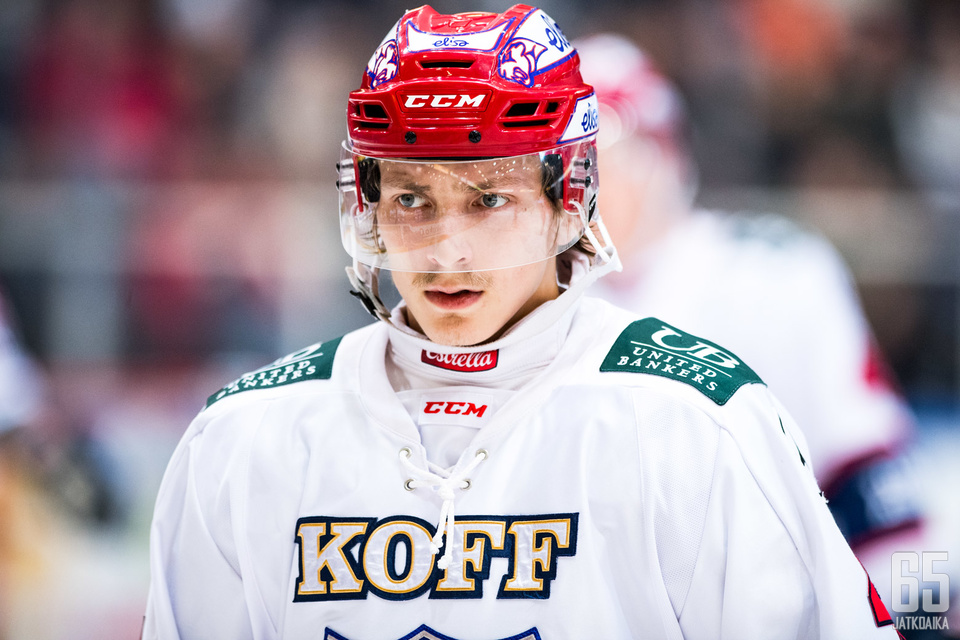 Iikka Kangasniemi on ollut sivussa HIFK:n vahvuudesta.