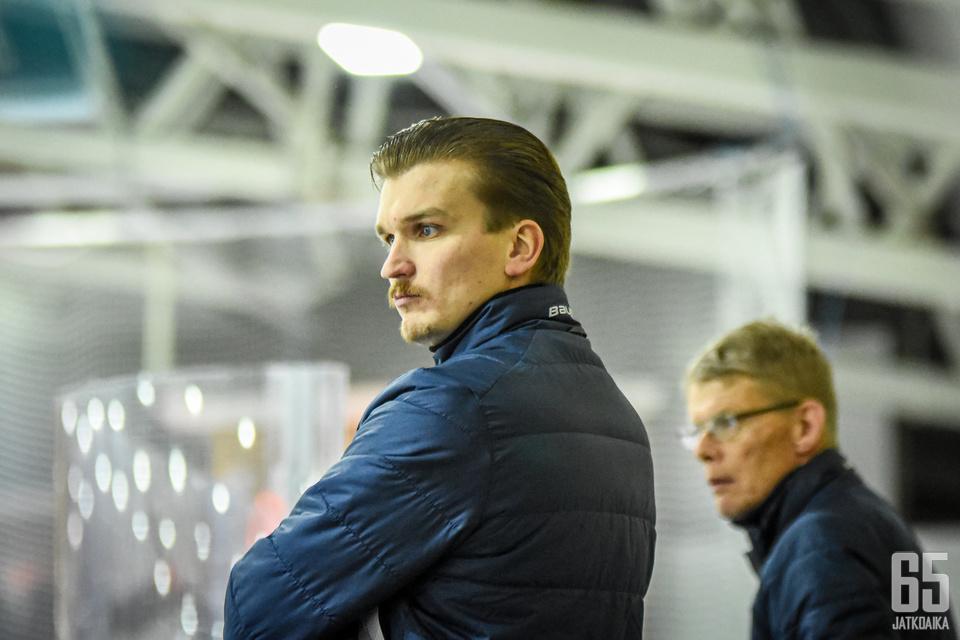 Tomas Westerlund toimii nykyisin KeuPan apuvalmentajana ja pelaajakoordinaattorina.